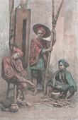 Vakter i Jakarta - Batavia - Java (Indonesien)