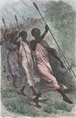 Kabba Rega - King of Unyoro and his Chiefs (Uganda)