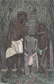 Etnisk Grupp - Ursprungsbefolkning av Marquesasöarna (Franska Polynesien)