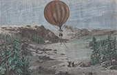 Balloon La Ville-d'Orl�ans in 1870 (Norway)