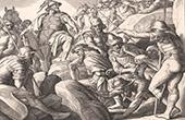 Bible - Old Testament - Joshua - Captive kings - Macéda Caverne