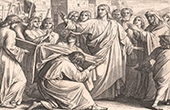 Bible - Nouveau Testament - Miracles de Jesus - J�sus ressuscite le fils de la veuve