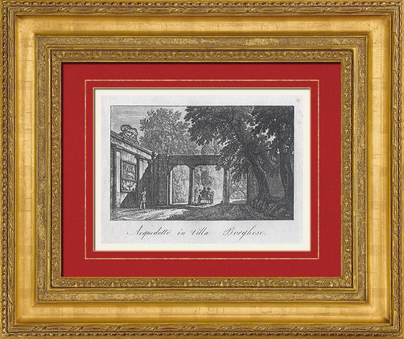 gravuras antigas gravuras de aqueduto. Black Bedroom Furniture Sets. Home Design Ideas