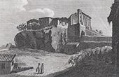 View of Rome - Porta della Rupe Tarpea - Tarpeian Rock - Capitoline - Hill