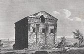 View of Rome - Tempio del dio Rediculo - Annia Regilla's Cenotaph - Ancient Rome
