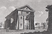 View of Rome - Temple of Camene
