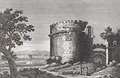 View of Rome - Caecilia Metela's Mausoleum - Cecilia Metella - Castrum Caetani - Via Appia Antica