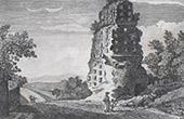 View of the Countryside of Rome - Sepulchre of Pompeo di Ascanio  - Via Appia Antica - Lazio