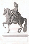 Portrait on Horseback of Louis XIV (1638-1715)