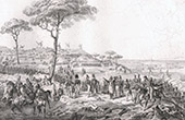 Spanish Expedition - A Coru�a (1823) - Bourke - La Rochejaquelein