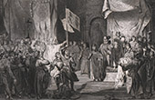 Coronation of Baldwin I of Constantinople - 1204