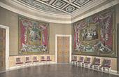 Slottet i Compi�gne - Salon de Stuc - Gobel�ng av Don Quijote