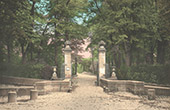 Castle of Compi�gne - Entrance of the Park