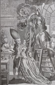Caricature - Conflagration of the Head-dress