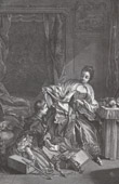 The Modiste - Articles of Fashion (Fran�ois Boucher)