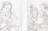 La Virgen y el Ni�o Jesus - La Virgen Mar�a, Jes�s y Santo Juan el Bautista (Correggio)