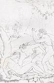 Bibel - Adam und Eva - Tod von Abel (Michelangelo)