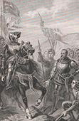 Bertrand Du Guesclin (1320-1380) - Schlacht von Cocherel - 1364