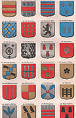 Brittany - Heraldry - Noble Families - Coat of arms