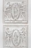 Adrian and Natalia of Nicomedia - Angels (Domenico Zampieri - Domenichino)