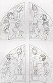 Angels holding Candelabrum (Domenico Zampieri - Domenichino)