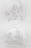 Angels - Christ in Majesty - St Frances of Rome - St Francesca Romana (Domenico Zampieri - Domenichino)