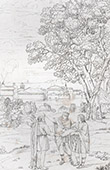 Mythology - Apollo - Neptune - Laomedon - Troy's Walls (Domenico Zampieri - Domenichino)