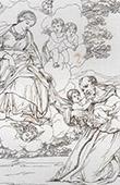 Angelos - Sant�sima Virgen Mar�a - Presentaci�n del Ni�o Jes�s a San Antonio de Padua (Domenico Zampieri - Domenichino)