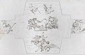 Fresco - Costaguti Palace at Rome - Ceiling (Domenico Zampieri - Domenichino)