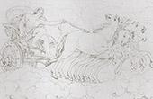 Mythology - Apollo in his chariot (Domenico Zampieri - Domenichino)