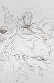 Bible - Christ in Majesty (Domenico Zampieri - Domenichino)