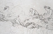 Mythology - Venus - Cupid - Ceres (Le Sueur)