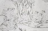 Mitolog�a - Diana y Calisto (Le Sueur)