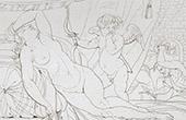 Mitolog�a - Sue�o de Venus (Le Sueur)