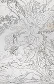Mitología - Júpiter y Antiope (Le Sueur)