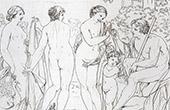 Mitología - Juicio de Paris (Francesco Albani)