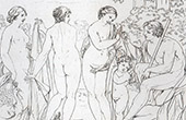 Mitolog�a - Juicio de Paris (Francesco Albani)
