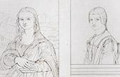 Portraits - Joconde - Gioconda - Mona Lisa - Monna Lisa - Unknown woman (Leonardo da Vinci)