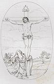 Crucifixion of Jesus - Pietà - Mater dolorosa (Guido Reni)