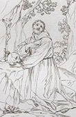 Saint Francis of Assisi in Prayer (Gu