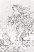 Mythology - Deianira's kidnapping (Guido Reni)
