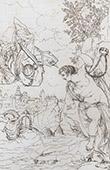 Greek mythology - Perseus Releases Andromeda (Véronèse)