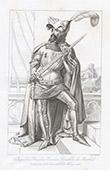 Portrait of James I Count of La Marche (1321-1362)