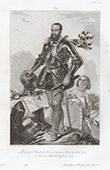 Portr�t zu Pferde von Charles II. de Coss� (1550-1621)