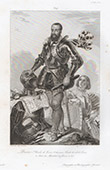 Porträt zu Pferde von Charles II. de Cossé (1550-1621)