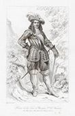 Retrato de Turenne - Enrique de la Tour de Auvergne-Bouillon (1611-1675)