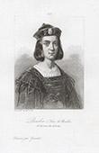 Portrait of Louis II, Duke of Bourbon (1337-1410)