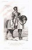 Porträt zu Pferde von Pierre I. de Rohan Maréchal de Gié (1451-1513)
