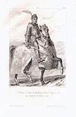 Porträt zu Pferde von André de Lohéac (1408-1486)