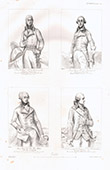 Portraits - Riel de Beurnonville - De Montesquiou-Fézensac - Marquis de La Fayette - J-B.-Donatien de Vimeur de Rochambeau
